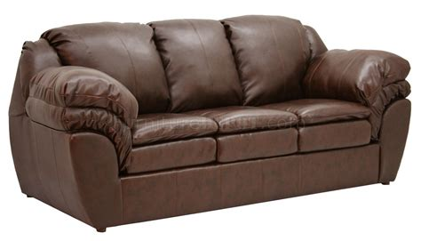 Fabric Loveseats by Coffee Leather Like Fabric Sofa Loveseat Set W Options