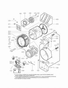Lg Model Wm3470hwa Residential Washers Genuine Parts