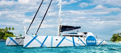Catamaran Around The World by Spend A Week Sailing Around The World In This Unique