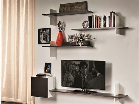 Tv Regal Wand by Tv Wall Shelves Wood Decor Ideasdecor Ideas