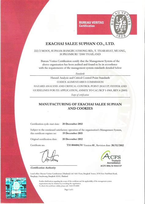 bureau veritas us ekachai salee suphan company limited about us