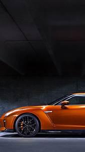 Wallpaper Nissan GT R, NYIAS 2016, supercar, orange, Cars