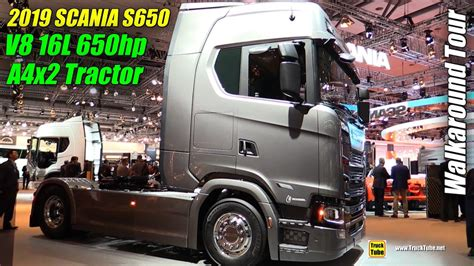 scania  ax hp   tractor exterior