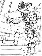 Pirates Coloring Pages Boys Printable Print Boy sketch template
