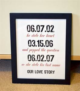 gift for husband 8x10 wedding gifts engagement party With first wedding anniversary gifts for husband