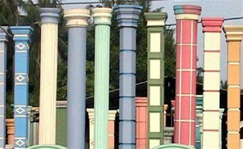 model desain tiang teras rumah minimalis klasik sederhana modern