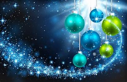Christmas Background Balls Ornaments Bright Holiday Snowflakes