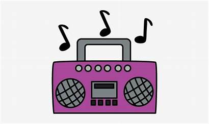 Sound Energy Example Clip Boombox Purple Clipart