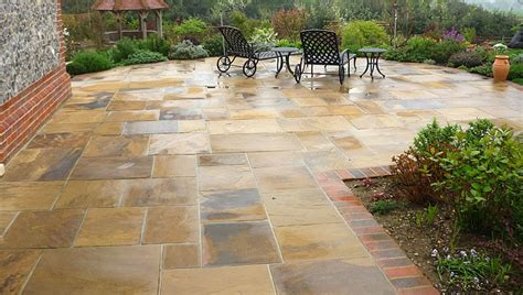 Patio Design And Natural Stone Walling