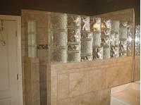 glass shower walls Glass block & tile Shower wall | Glass Block | Pinterest ...
