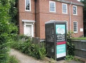 File Modern Phone Box Outside The Old Telephone Exchange - Geograph Org Uk