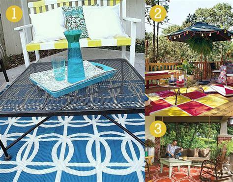 diy outdoor rug weekend diy outdoor rug willard and may outdoor living