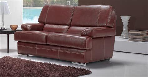 canapé 2places vasto salon 3 2 cuir buffle personnalisable sur univers du