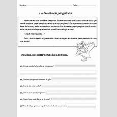 Ejercicios Comprension Lectora Para NiÑos  Lenguaje  Comprensión Lectora, Estrategias De