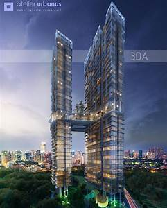 """Twin Tower Jakarta Alex Gunawan for 3DA Australia # ..."