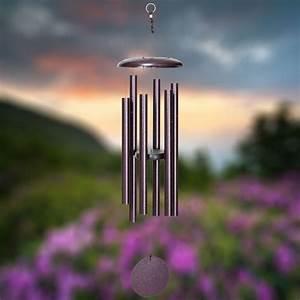 Corinthian, Bells, 36, Inch, Plum, Wind, Chime, -, Scale, Of, E