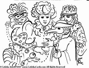Mardi Gras Coloring Pages For Kids - AZ Coloring Pages
