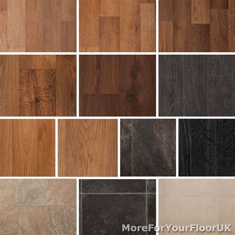 Quality Vinyl Flooring Roll CHEAP, Wood or Tile Effect