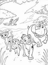 Lion Guard Coloring Printable Colorear Leon Dibujos Guardia Pintar Halloween Popular Birthday Imagenes Chakiradecor Dentistmitcham sketch template