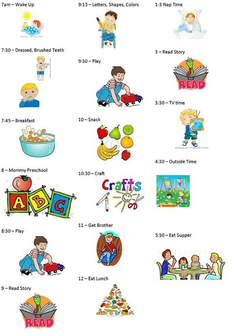 25 best ideas about toddler daily schedules on 832 | 424e88e4a2105e6ef2c6c4e77440097d