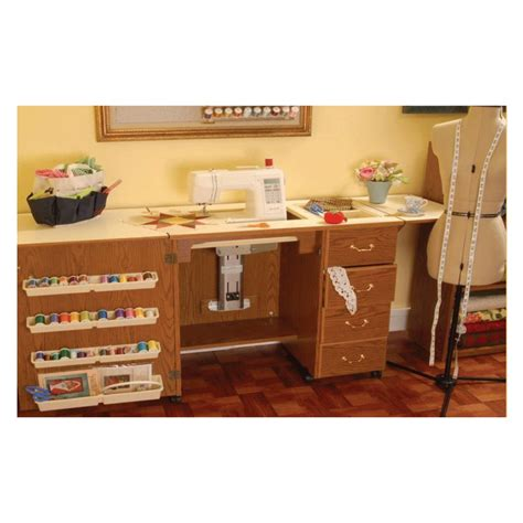 Arrow Sewing Cabinets by Arrow Sewing Cabinet Norma Jean Cherry Model Storage