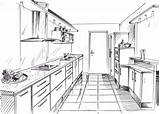 Armoire Dessin Cuisine Kitchen Dessins Les Polyester Pages Coloring Template Cabinets Sketch sketch template
