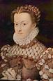1570 Elisabeth of Austria by François Clouet (Louvre ...