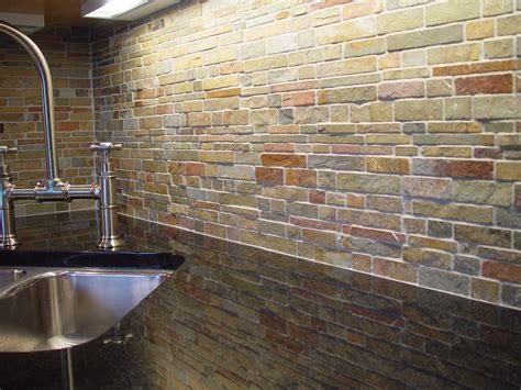 Slate Kitchen Backsplash by Slate Backsplash Falling Water For The Home Modern