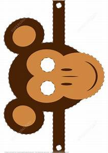 Free Printable Animal Masks Templates Monkey Mask Template Free Printable Papercraft Templates