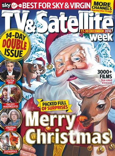 tv magazine gratuit tv satellite week magazine 17th december 2016 subscriptions pocketmags