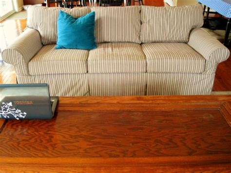 ethan allen bennett sofa with custom slipcover love it