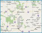 Los Alamos New Mexico Map - TravelsFinders.Com