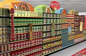 China Easy Assemble Retail Convenience Store Shelf powder ...