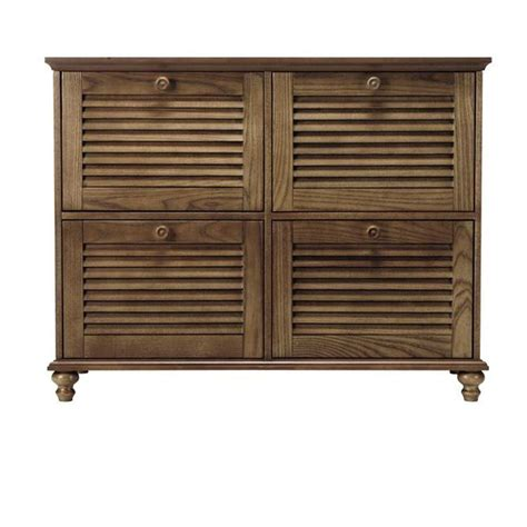 home depot cabinet wood home decorators collection shutter 4 drawer wood file