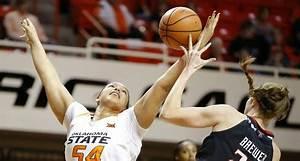 Oklahoma State vs. Kansas women's basketball lineups ...