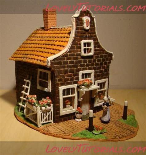 Polymer Clay House Tutorial
