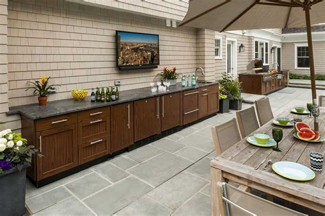 outdoor kitchen ideas brown outdoor kitchens
