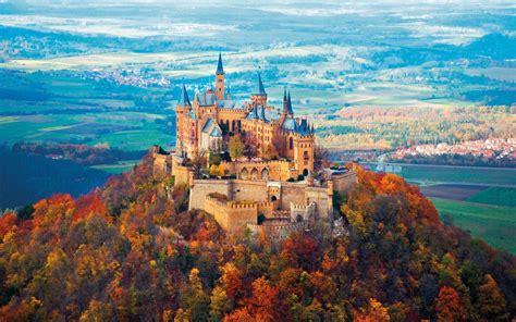 Neuschwanstein Castle Autumn wallpapers