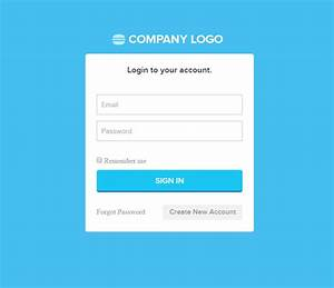 6 best php login form templates free premium themes for How to create template in php
