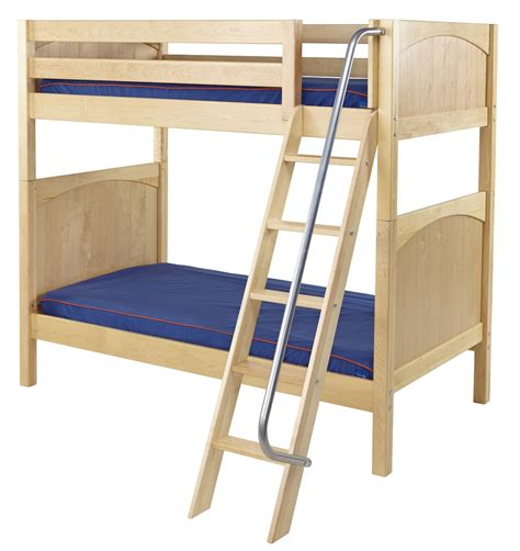 bunk beds maxtrix high bunk bed w angle ladder t t