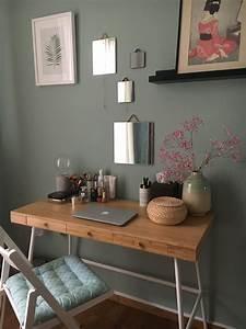 Ikea Schreibtisch Hack : lillasen desk ikea my new dresser became vanity desk ~ Watch28wear.com Haus und Dekorationen
