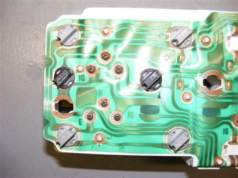 Instrument Cluster Circuit Board Third Generation