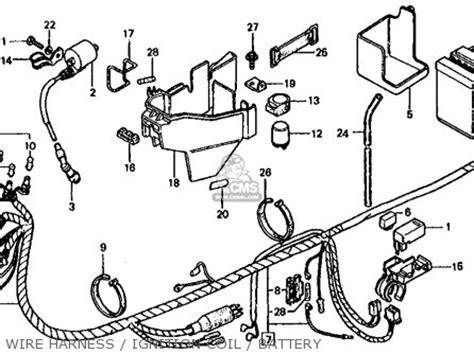 honda mb50 mb5 1982 c usa parts lists and schematics