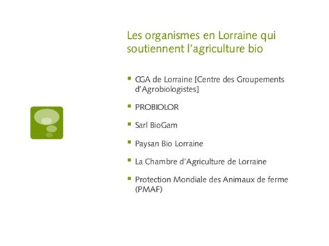 chambre agriculture meurthe et moselle le bio en lorraine organic agriculture in the lorraine