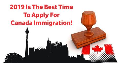 2019 Is The Best Time To Apply For Canada Immigration