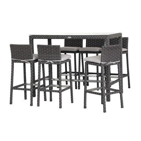 table chaise exterieur pas cher table de bar exterieur pas cher