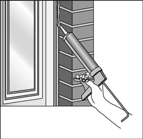 Window Sill Sealant by How To Seal Windows Dummies