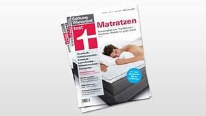 Matratzen Testsieger 2015 Stiftung Warentest : stiftung warentest lattenrost und matratze im test ~ Bigdaddyawards.com Haus und Dekorationen