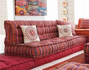 Gros Coussin De Sol : structure canap lit futon ~ Teatrodelosmanantiales.com Idées de Décoration