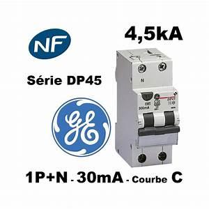 Nombre De Prise Par Disjoncteur : disjoncteur diff rentiel 30ma phase neutre courbe c type ~ Premium-room.com Idées de Décoration